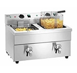 Friteuse induction professionnelle 2 bacs