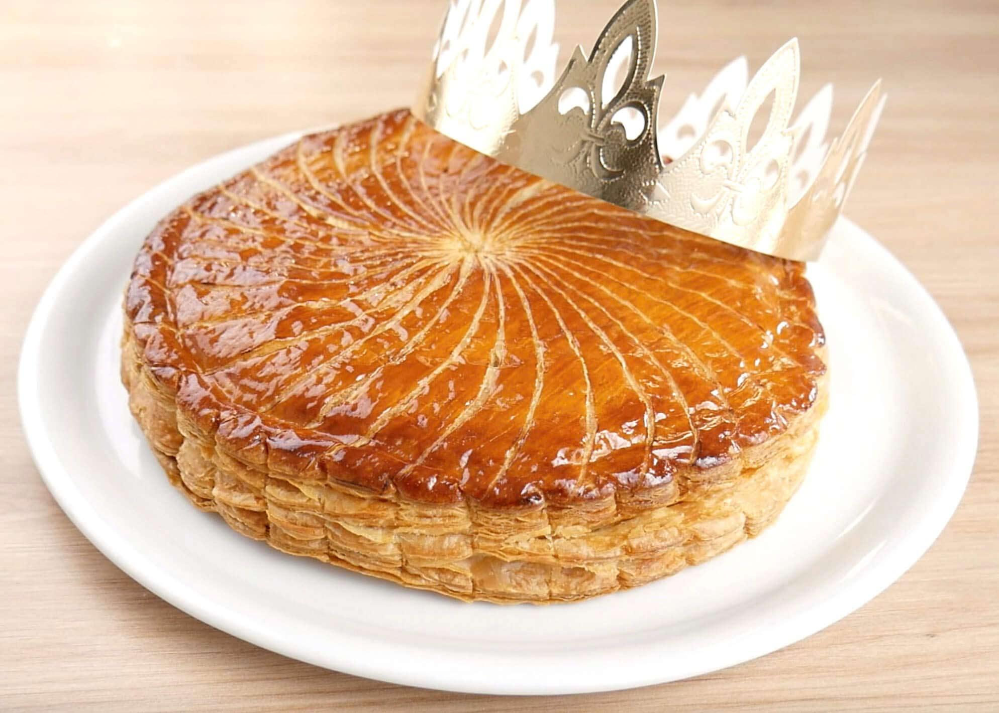 Galette des rois de boulanger