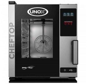 UNOX - Four professionnel 5 niveaux Gn 2/3 - ChefTop Compact One XECC-0523-E1R