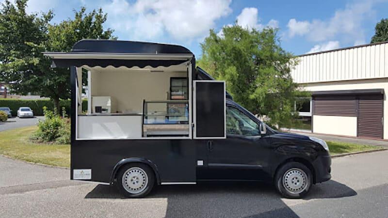 Vitrine de présentation Food Truck