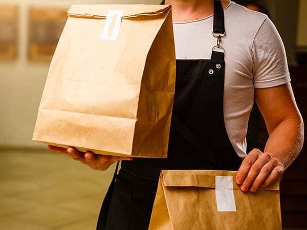 Mettre en place la vente à emporte de repas pour reprendre une activité - Covid-19