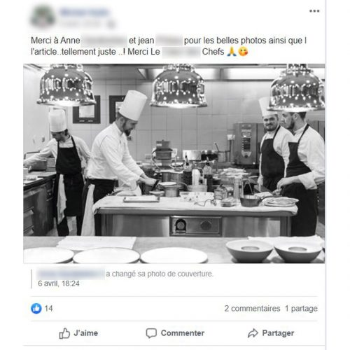 Chefs en cuisine de resaturants